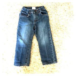 Boys 3T children's place straight jeans EUC